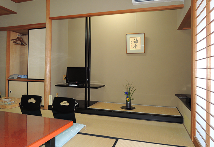 矢田屋松濤園のお部屋の様子2