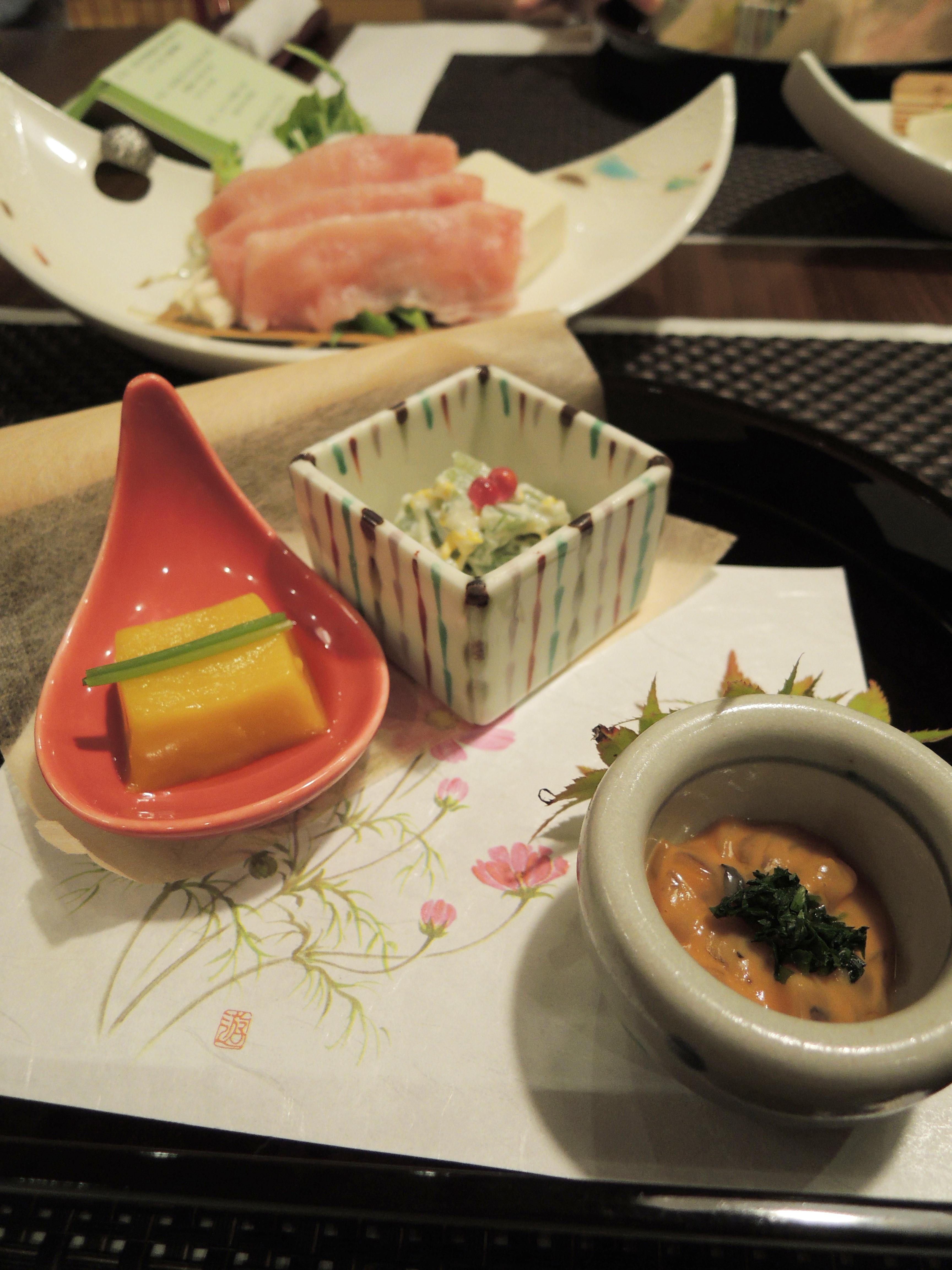 前菜の小鉢